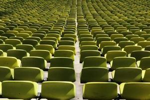 Assentos vazios foto