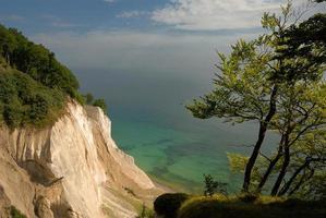 mons klint, dinamarca, ilha mon foto