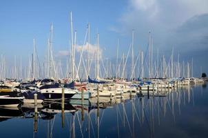 porto de rungsted, riviera danesa foto
