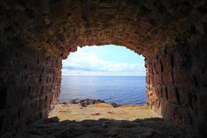 fort christiansoe ilha bornholm dinamarca foto