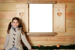 retrato de natal foto