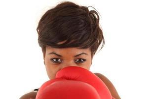 retrato de boxe foto