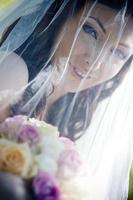 retrato de noiva foto