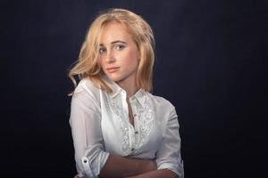 retrato de mulher jovem