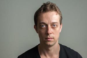 retrato de homem foto