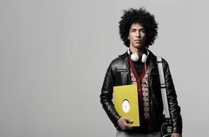retrato de música dj