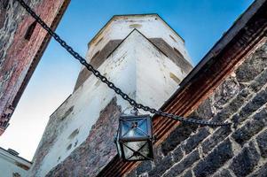 lanterna do castelo antigo foto
