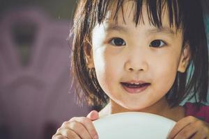 menina chinesa asiática foto