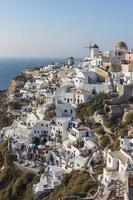 Santorini na Grécia foto