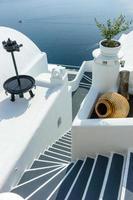 ilha de santorini grécia foto