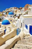 ilha de santorini, cyclades, grécia.