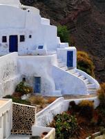 casas de caverna santorini
