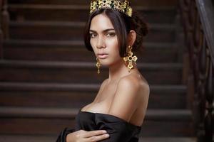 princesa asiática foto