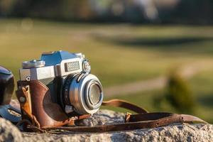 câmera de filme retro