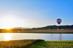 balões de ar quente foto