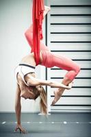 ioga antigravidade foto