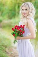 retrato de mulher beleza