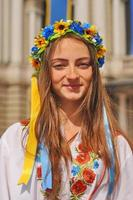retrato de menina ucraniana