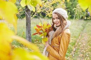 aproveitando o outono foto
