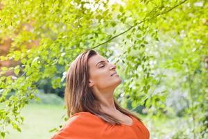 apreciar a natureza, ao ar livre foto
