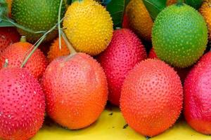 fruta gac fruta saudável foto