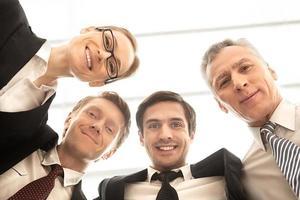 Nós somos uma forte equipe de negócios. foto