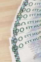 moeda sueca foto