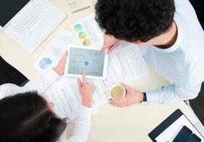 planejamento de negócios moderno