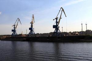 porto de carga foto