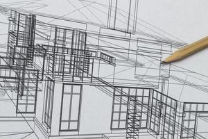 desenho de casa foto