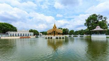 bang pa-in palácio de verão foto
