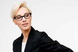 retrato de mulher de negócios foto