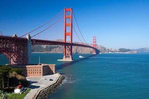 a ponte golden gate em são francisco foto