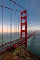 ponte golden gate, são francisco, califórnia, eua