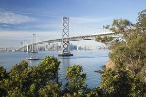 são francisco e ponte da baía foto