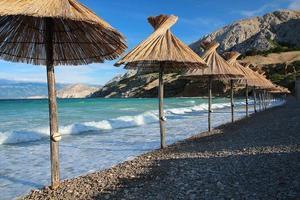 praia mediterrânea foto