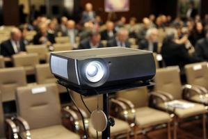 apresentação de reunião de negócios foto