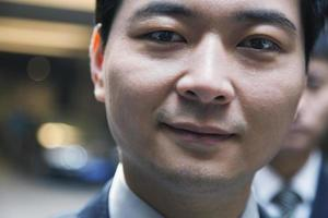 retrato de pessoas de negócios, olhando para a câmera, beijing