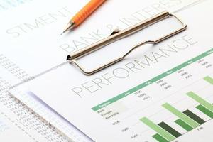análise de desempenho de negócios foto