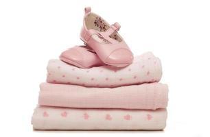presentes da menina do chuveiro de bebê foto