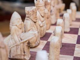 xadrez estilo europeu foto