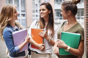 sinta-se confortável em seu grupo no campus