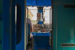 condutor de trem foto