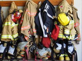 cremalheira do comparecimento do bombeiro foto