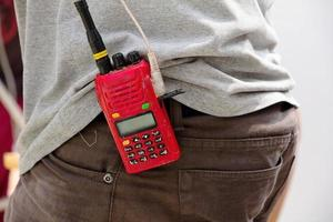 walkie-talkie foto
