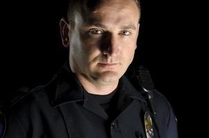 Oficial de patrulha foto