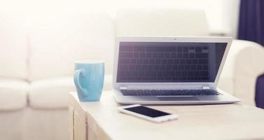 maquete de laptop foto