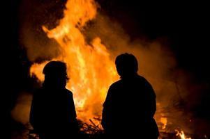 fogo da páscoa foto