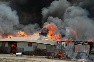 incêndio em casa
