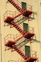 escada de incêndio foto